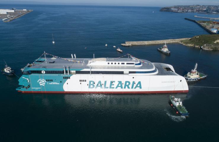Un 'fast ferry' innovador